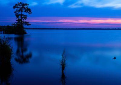 Lake Drummond at Twilight