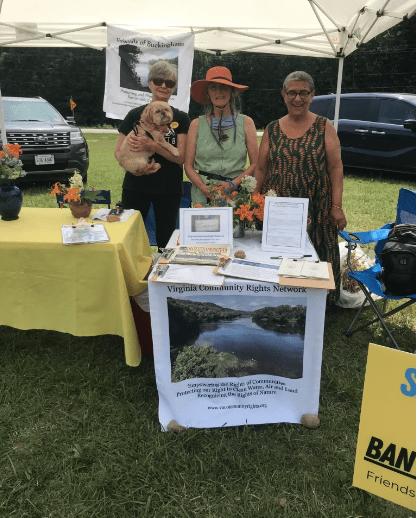 Juneteenth 2021, Buckingham, Anti-Goldmining Table